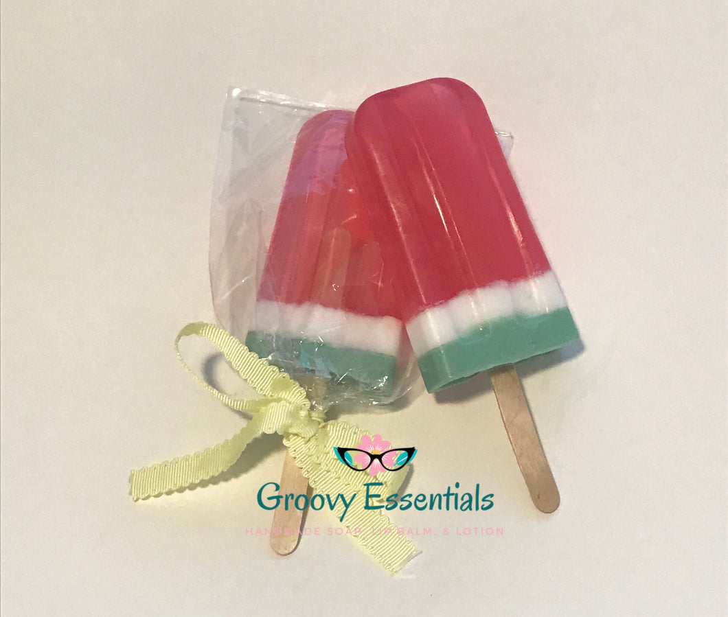 Watermelon Popsicle Soap