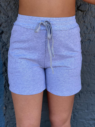 Lounge Lover Shorts - Heather Grey