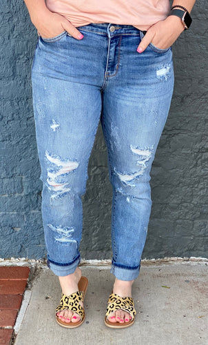 Together Forever Boyfriend Jeans