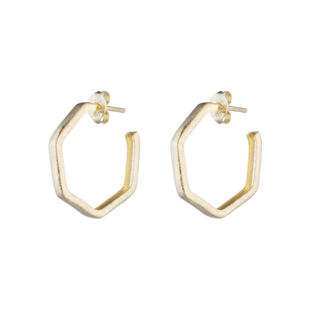 Lure Hoops - Gold