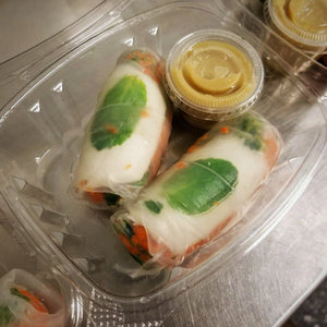 Thai Coconut Fresh Rolls