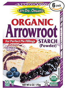 Arrowroot Powder, Organic