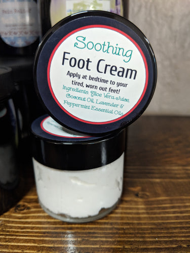 Soothing Foot Cream: Large