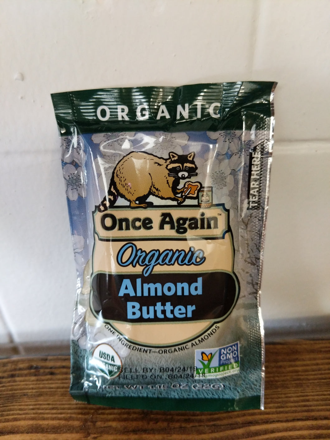 Organic Almond Butter Pouches