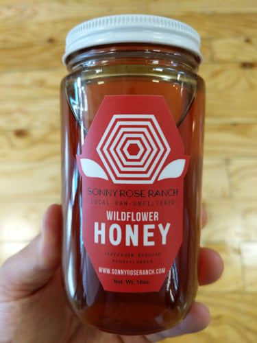Raw Unfiltered Wildflower Honey