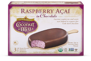 Raspberry Açaí Chocolate Bars