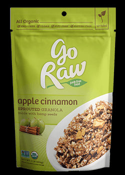 Organic Sprouted Apple Cinnamon Granola