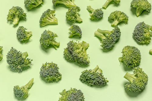 Organic Broccoli Crowns by the pound