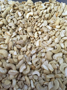 Raw Cashew Pieces by the pound