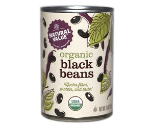 Organic Black Beans Canned