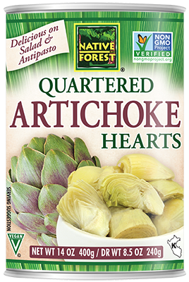 Quartered Artichoke Hearts