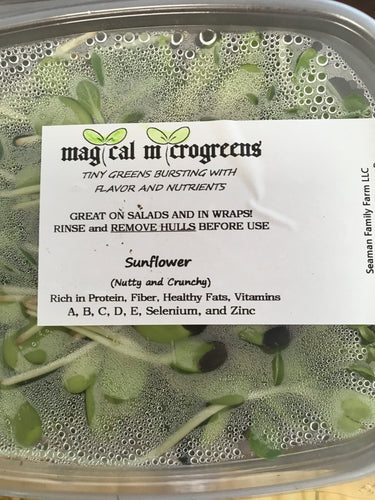 Sunflower Magical Microgreens