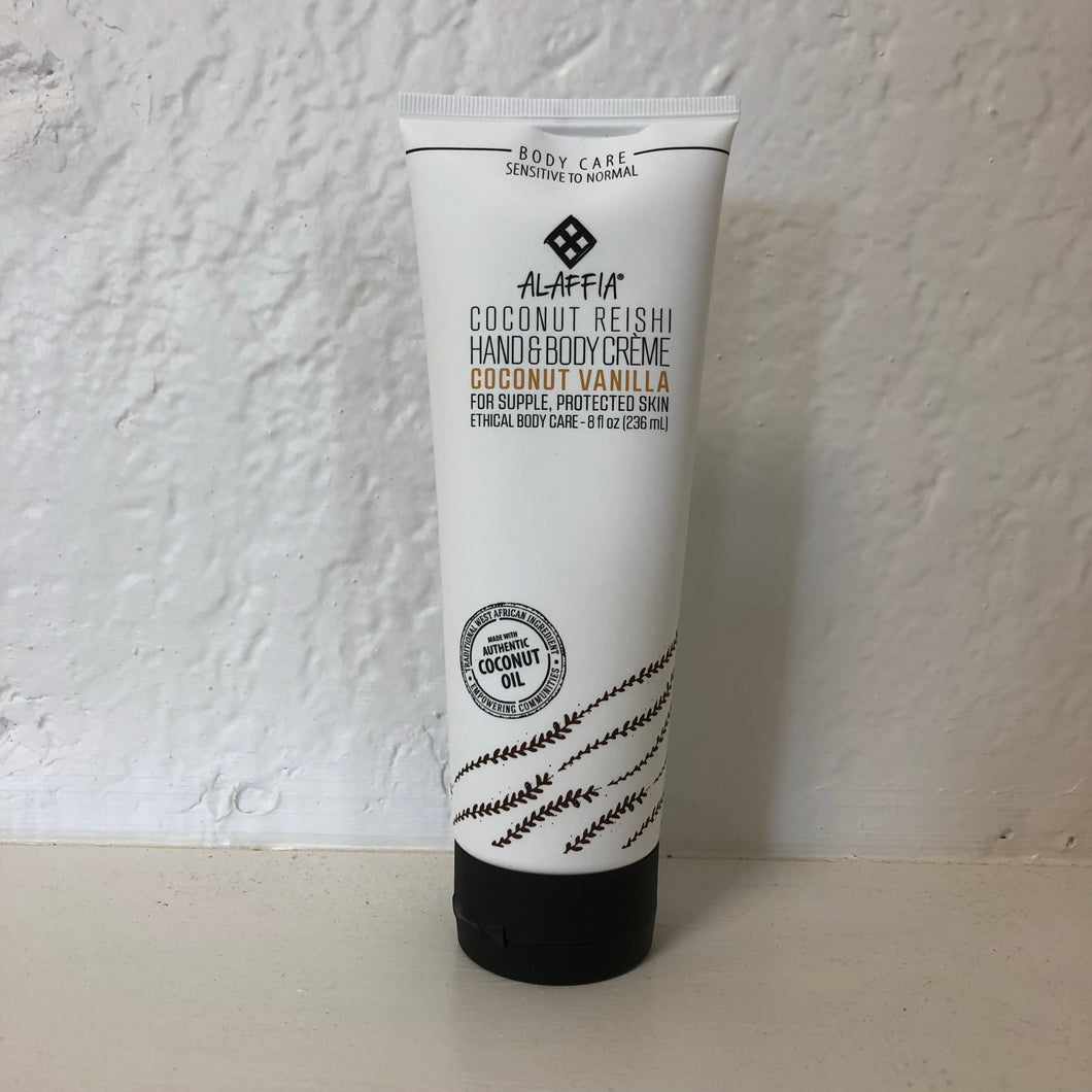 Coconut Reishi Vanilla Hand & Body Cream