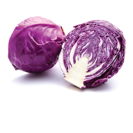 Organic Purple Cabbage by the pound