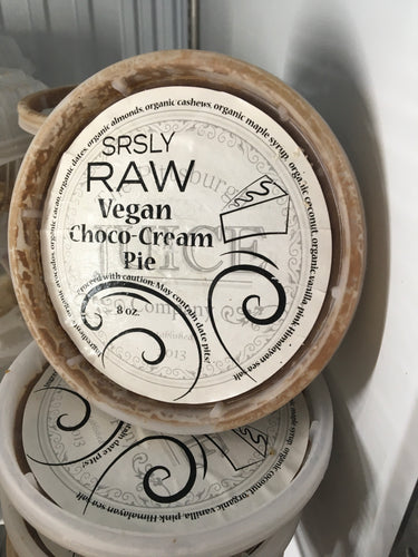 Raw Vegan Cacao Cream Pie