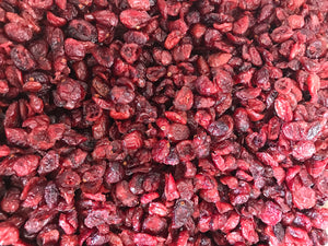 Organic Dried Cranberries Sweetened by the pound