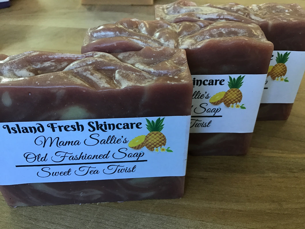 Sweet Tea Twist soap