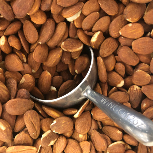 Organic Raw Almonds by the pound