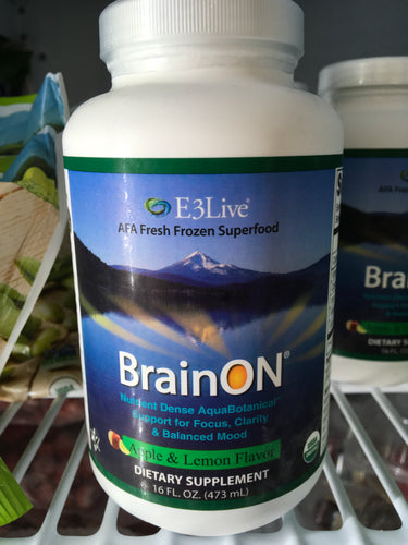 Flavored E3Live BrainON Frozen 16oz Bottle