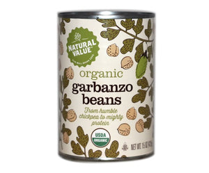 Organic Garbanzo Beans Canned