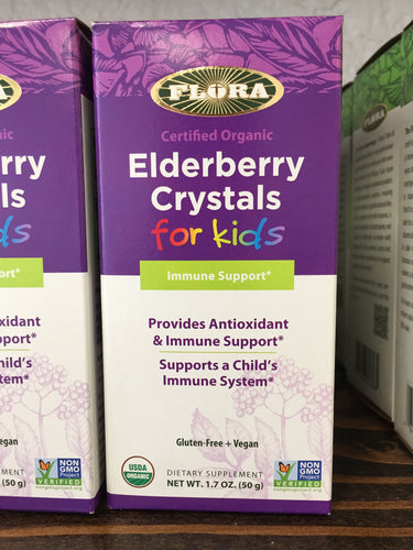 Elderberry Crystals for Kids