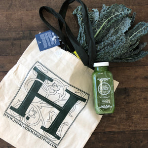 "Heirloom ""H"" Grocery Tote"
