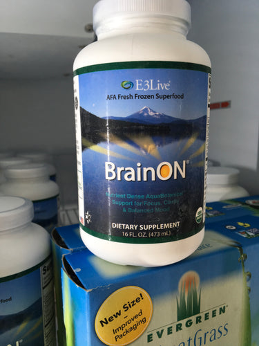 Unflavored BrainON Frozen 16oz Bottle