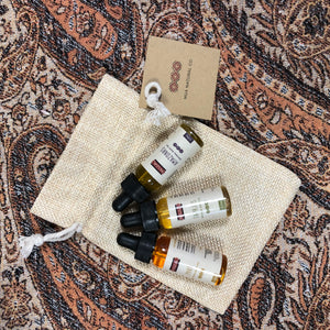 Natural body oil blends