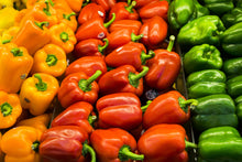 Organic Rainbow Bell Peppers