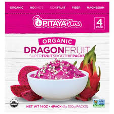 Frozen Pitaya Dragon Fruit Packs