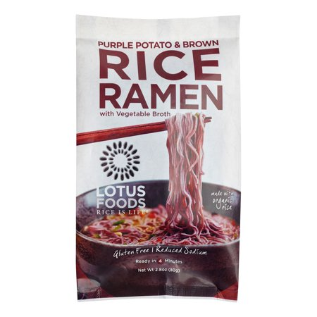 Purple Potato and Brown Rice Ramen