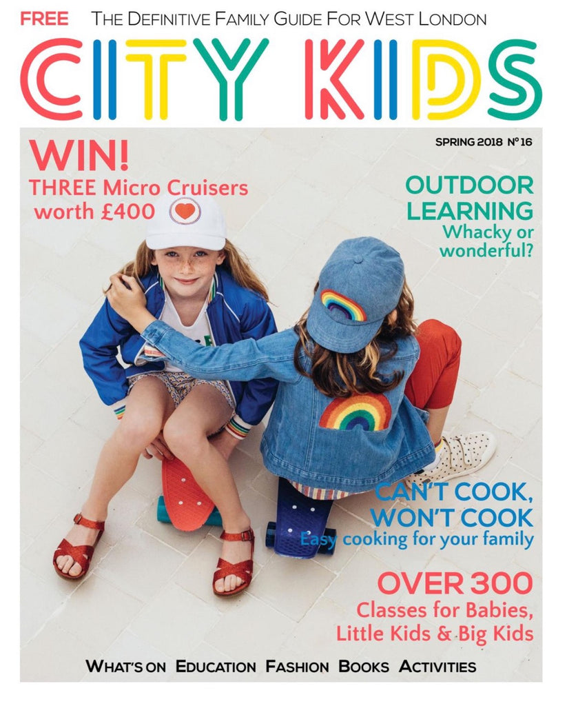 City Kids Magazine - Baby-faced Genius