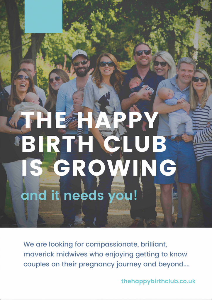 The Happy Birth Club is growing - and it needs YOU!