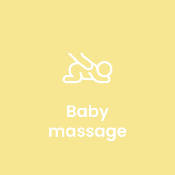 5-Week White City Baby Massage Course - July to August 2020 - The Happy Birth Club