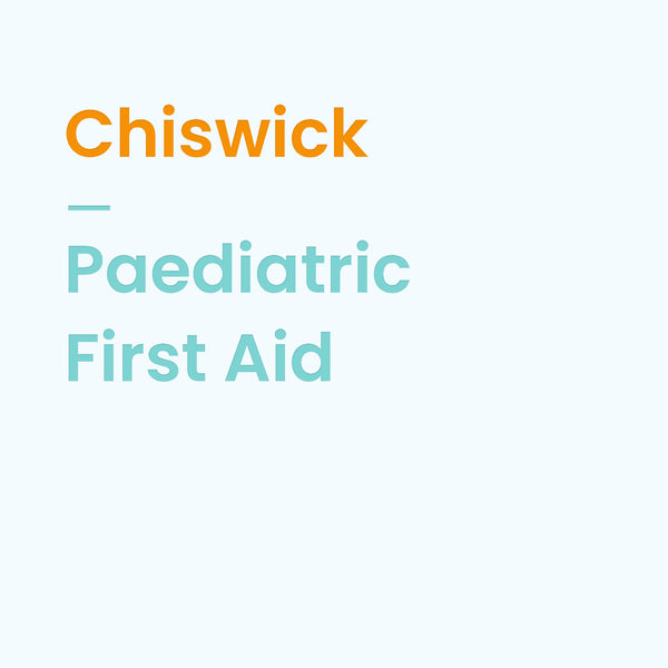 Paediatric First Aid - 27 September 2018