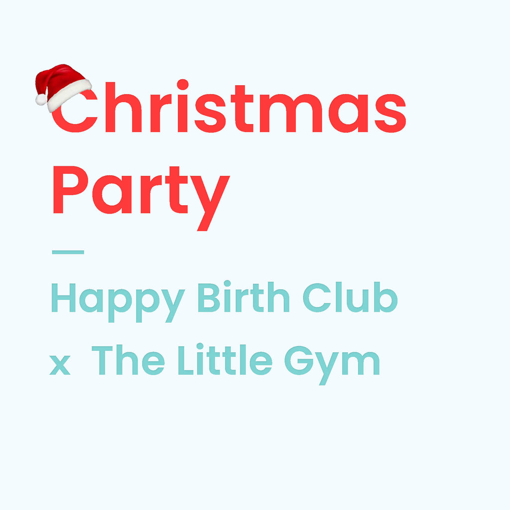 Christmas Party - 6 December 2018 - The Happy Birth Club