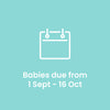 Teddington due September - mid October 2019 - The Happy Birth Club