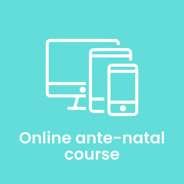 NEW LIVE Online Antenatal Course with Midwife - April Course