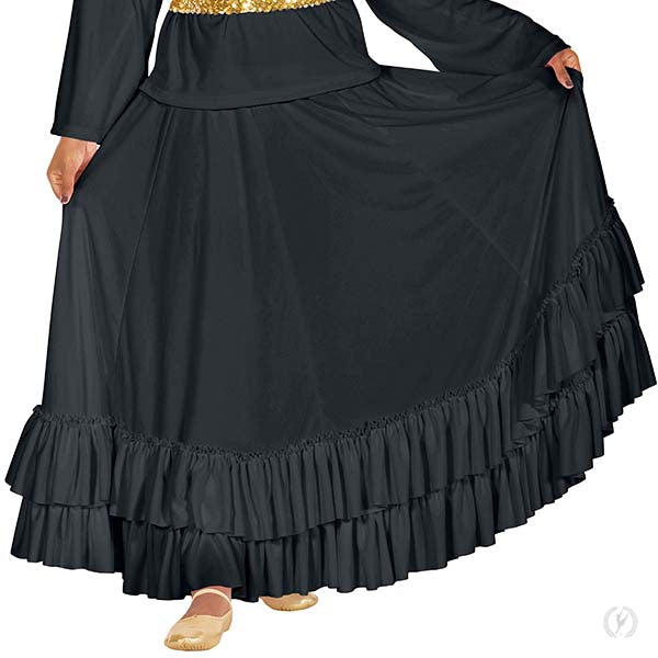 Womens Revelation Praise Skirt - Eurotard 08803