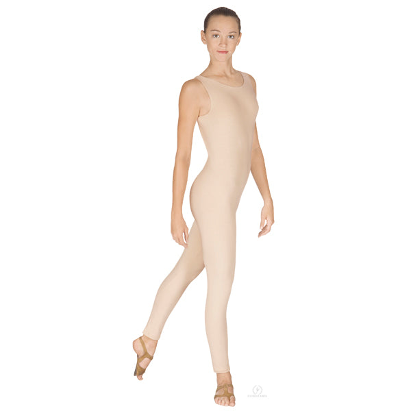 Adult Cotton Lycra Tank Unitard - Eurotard 1029