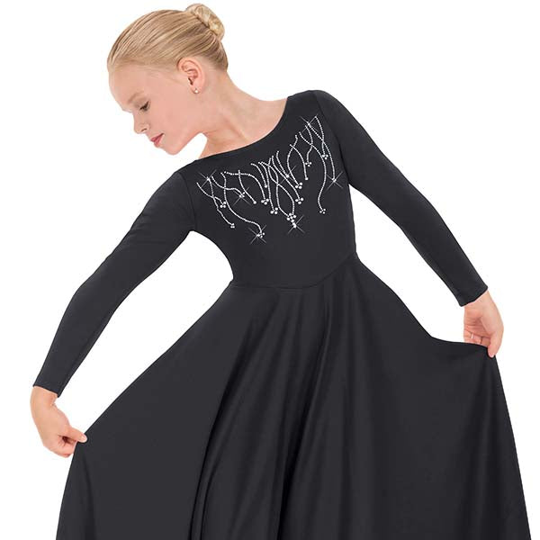 Reigning Cross Dress - Child's - Eurotard 11024C