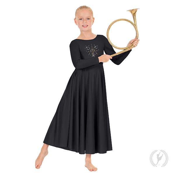 Shining Cross Dress - Child's - Eurotard 11524C