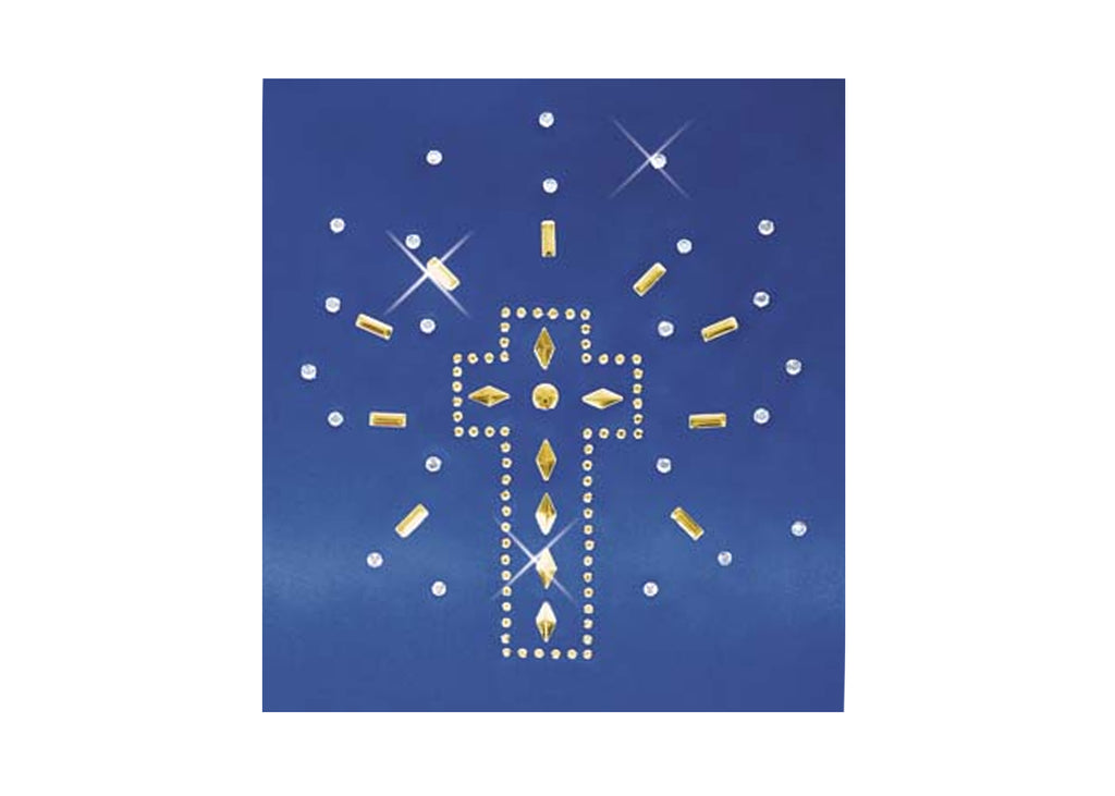 Iron-On Shining Cross Appliqué - Eurotard - 11SH