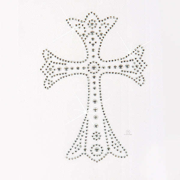 Iron-On Royal Cross Appliqué - Eurotard - 11CR