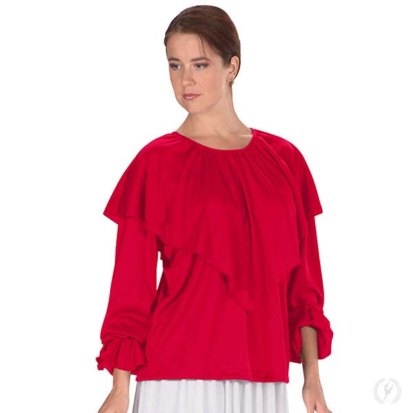 Humble Servant Shawl Top - Eurotard 13736