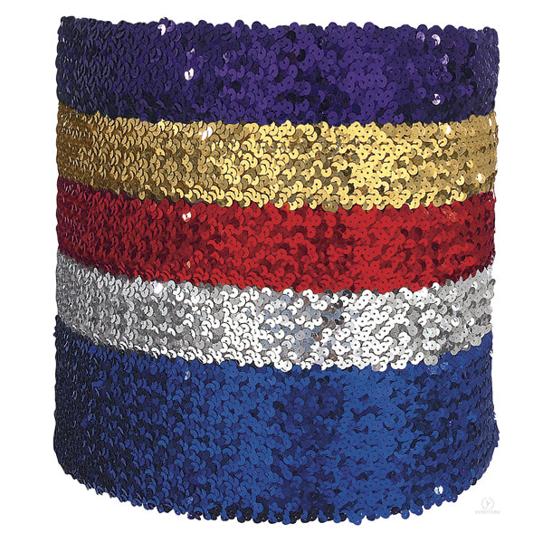 "4"" Wide Sequin Belt - Eurotard - 13744"