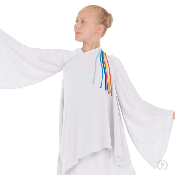 Asymmetrical Streamer Tunic - Eurotard 13844C