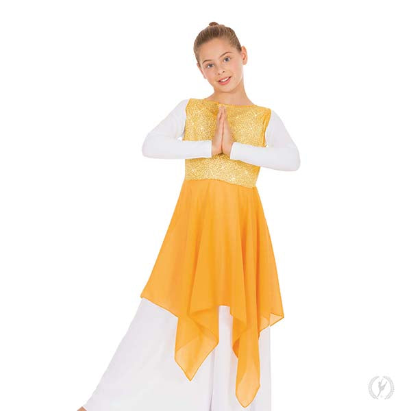 Sparkling Praise Tunic - Child's - Eurotard 13849C