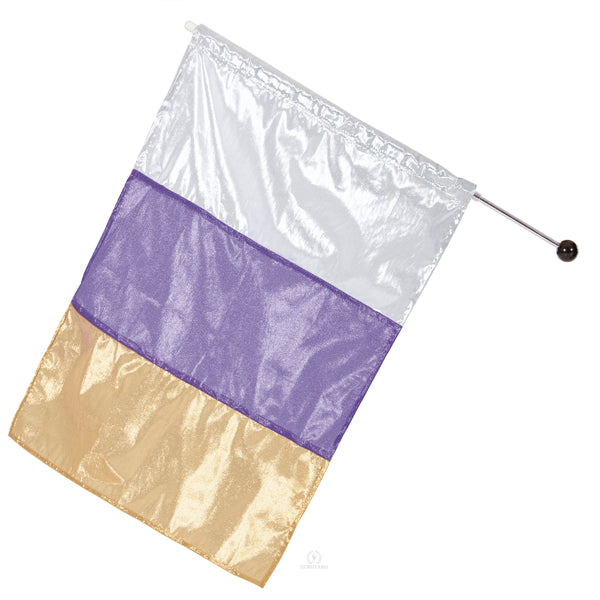 Metallic Tricolor Flag - Eurotard - 13FLM
