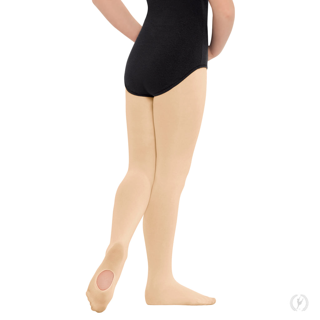 Eurotard 210c Non-Run Convertible Tights in Suntan sold by Dance Fashions Superstore in Roswell, Georgia. Dance Tights in Suntan for Girls.